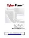 CyberPower Systems CPS140UPA Automobile Accessories
