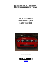 Saleen 10-8002-C11670C Automobile Accessories