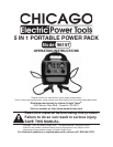 Chicago Electric 96157 Automobile Battery Charger