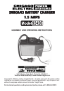 Harbor Freight Tools 92426 Automobile Battery Charger