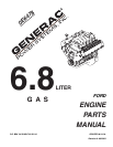 Generac Power Systems 0E6478 Automobile Parts