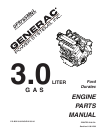 Generac Power Systems 0F9765MNL Automobile Parts