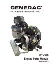 Generac Power Systems GTV990 Automobile Parts
