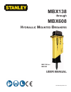 Stanley Black & Decker MBX138 Automobile Parts