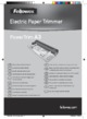 Fellowes Powertrim A3 Paper Cutter