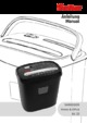 Geha Home and Office X6CD Paper Shredder