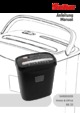 Geha Home and Office X8CD Paper Shredder