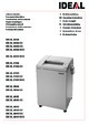 IDEAL 3104 CC Paper Shredder
