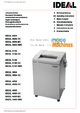 IDEAL 3105 Paper Shredder