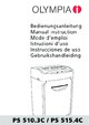 Olympia PS 510.3 CCD Paper Shredder