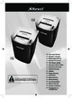 Rexel Mercury RDM11 Paper Shredder