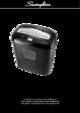 Swingline EX10-05 Paper Shredder