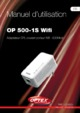 Optex OP 500-1S Wifi Powerline Adapter