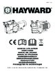 Hayward Super Pump Swimming Pool Pump