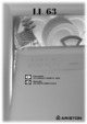 Ariston LL 63 Dishwasher