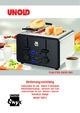 Unold 38815 Onyx Big Toaster