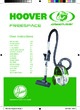 Hoover TFG 5123 Freespace Greenray Vacuum Cleaner
