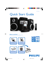 Philips DC156 MP3 Docking Station