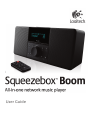 Logitech Squeezebox Boom Portable Stereo System