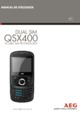 AEG QSX400 Mobile Phone